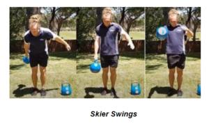Skier Swings