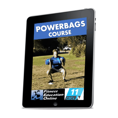 Powerbag Essentials for Personal Trainers and Bootcamp (11CECs)