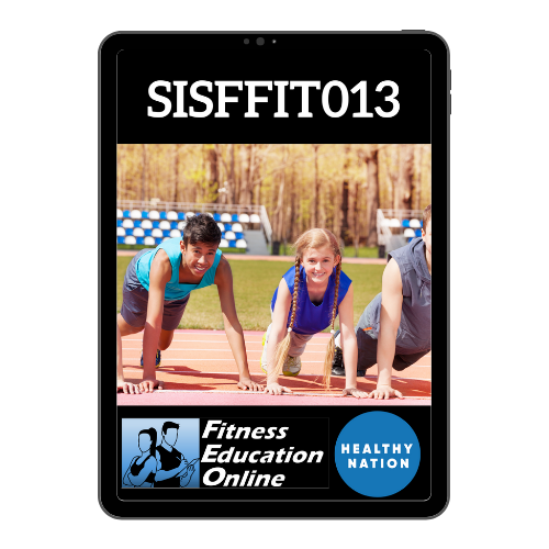 SISFFIT013 Instruct exercise to young people aged 13 to 17 years