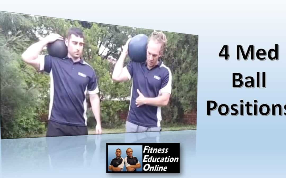 4 Med Ball Positions You Must Try