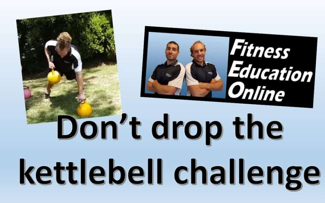 Don't Put the Kettlebell Down Challenge and Workouts