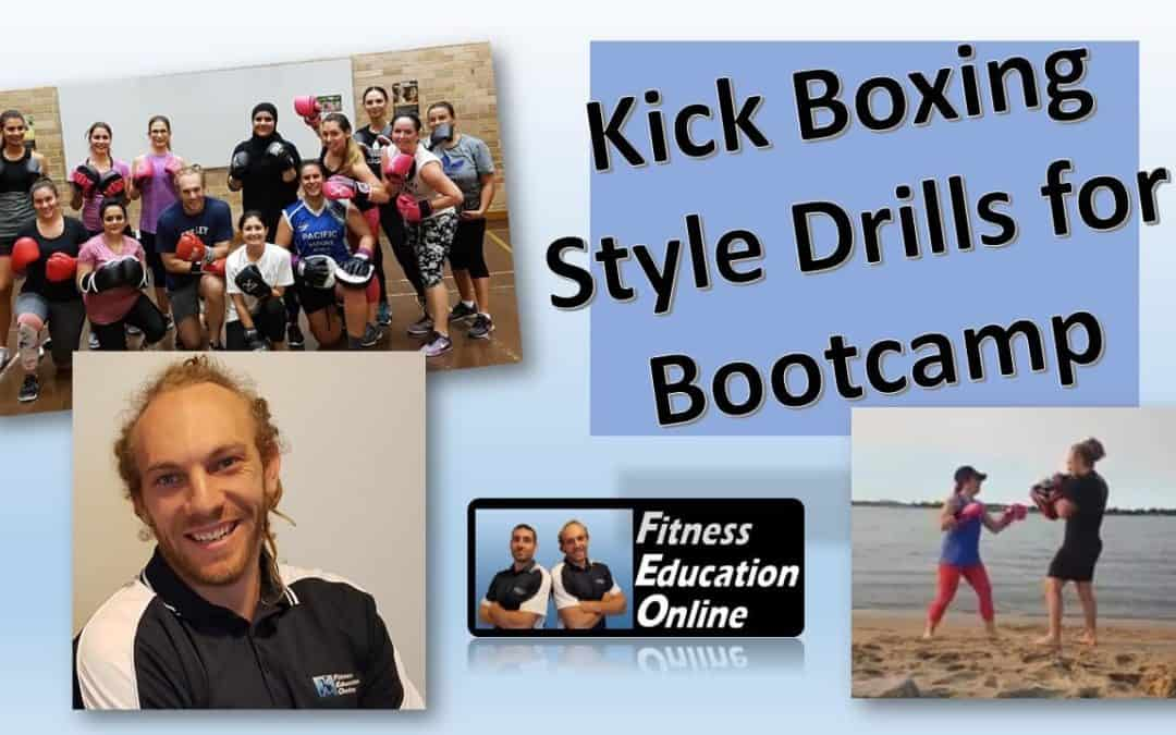 Kick Boxing Style Drills for Bootcamp