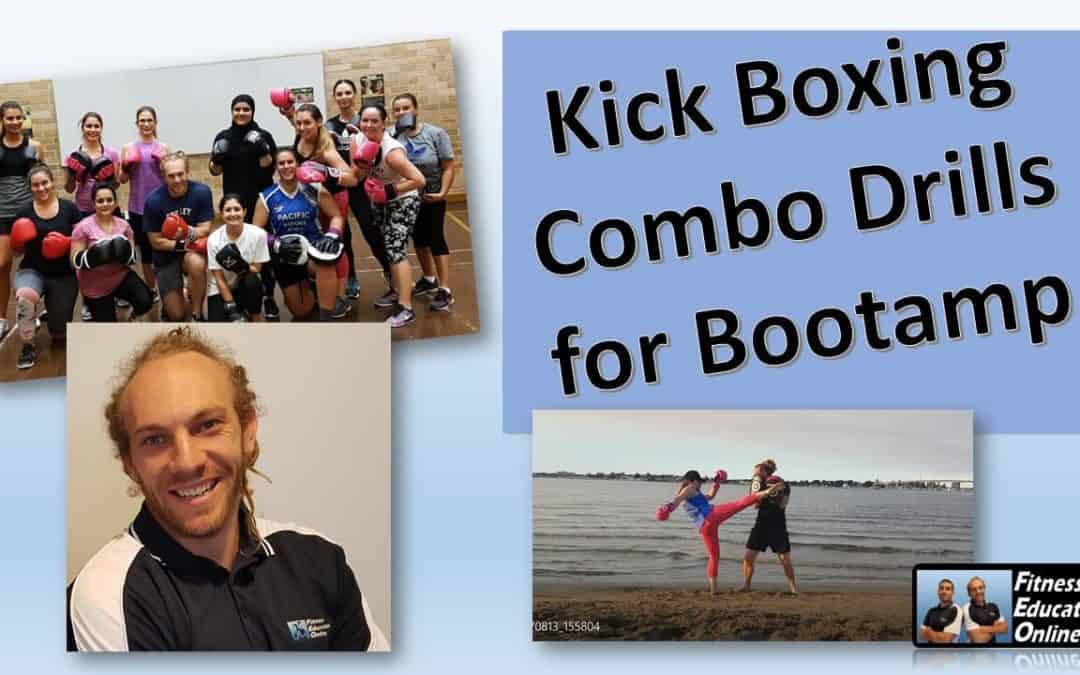 Kick Boxing drills for Bootcamp