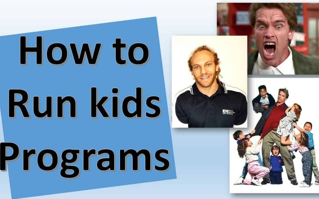 How to Run kids Programs for PTs