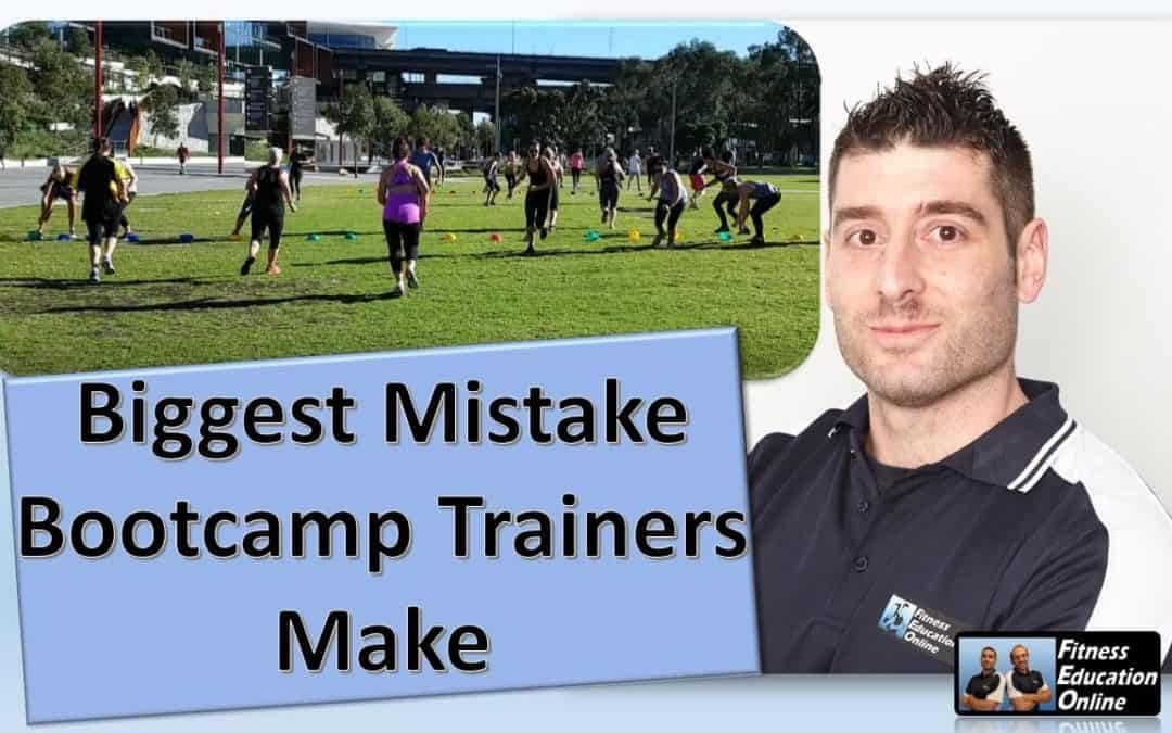Biggest Mistake Bootcamp Trainers Make