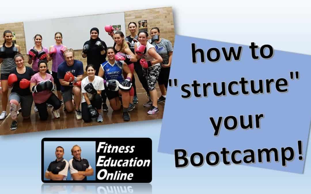 How to structure your Bootcamp