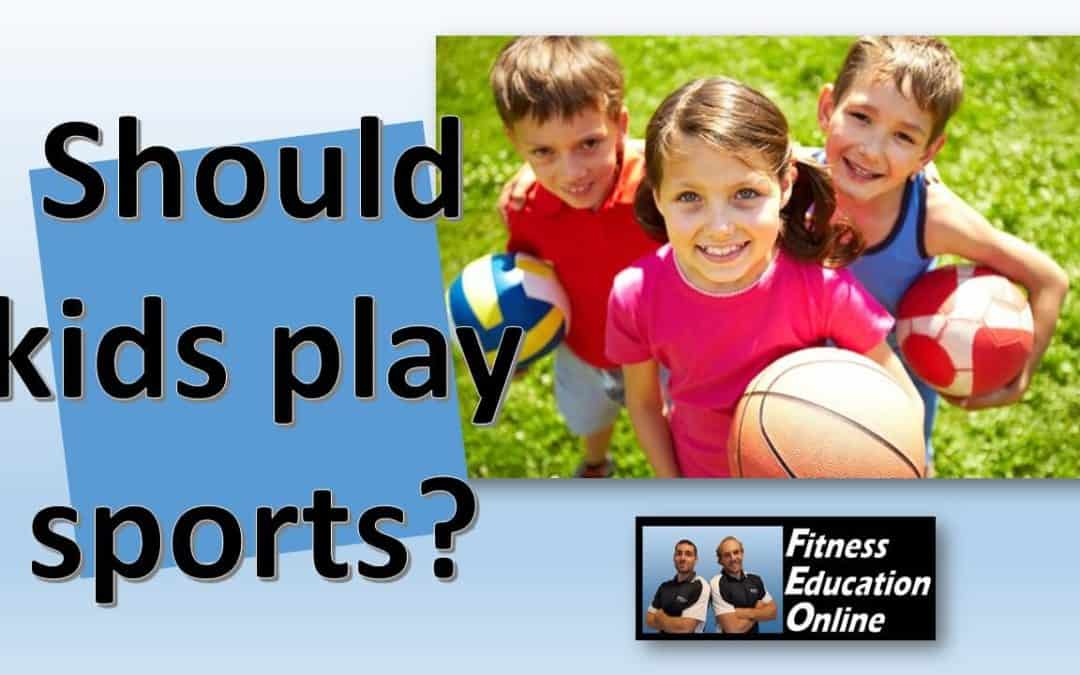 Should kids play sports?