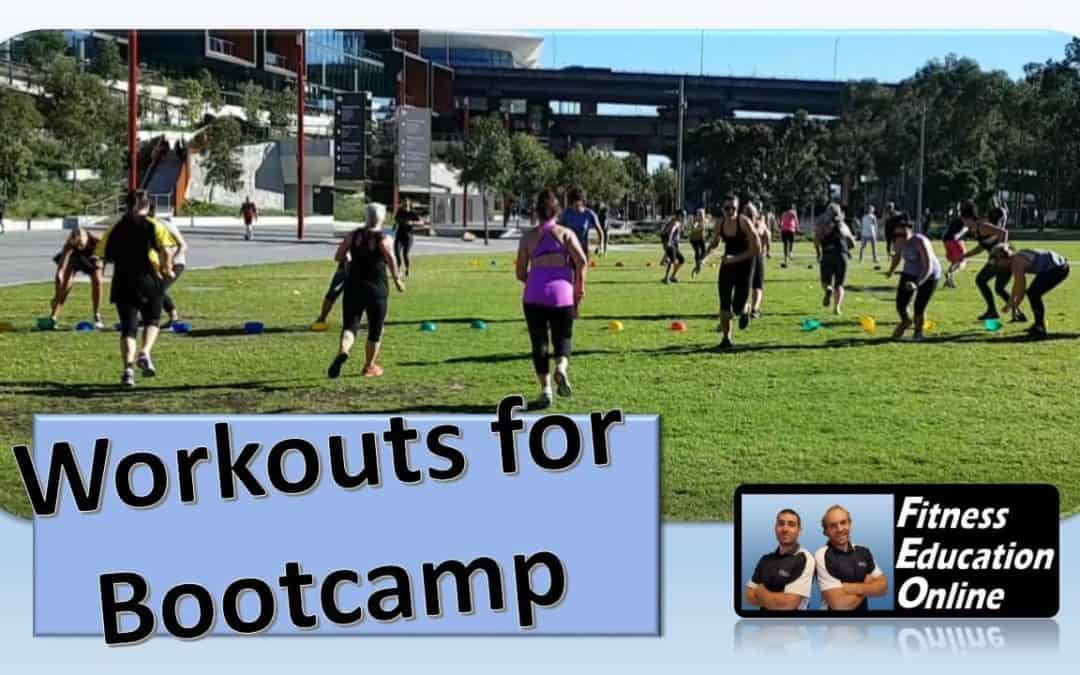 Workouts for Bootcamp