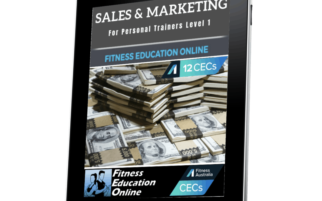 Sales & Marketing For Personal Trainers Level 1 (12CECs)