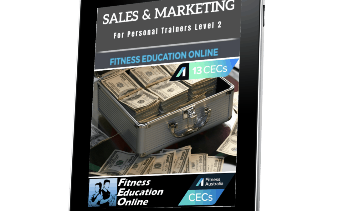 Sales & Marketing For Personal Trainers Level 2 (13CECs)