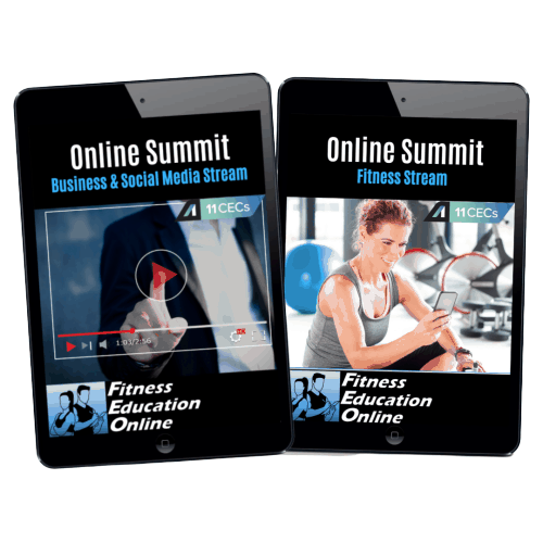 Online Summit Package for PT's (22CECs)