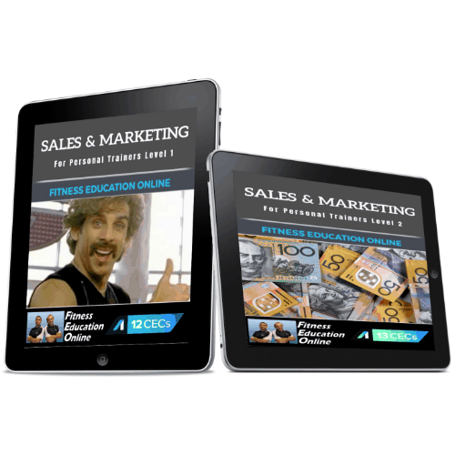 Sales & Marketing Essentials Package for Personal Trainers (25CECs)