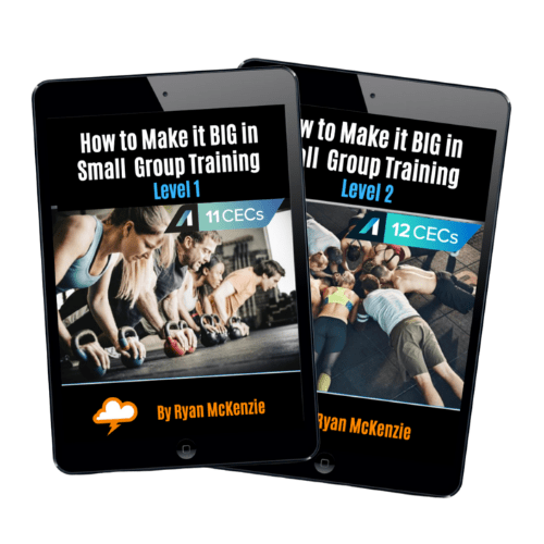 How To Make It BIG in Small Group Training Package (23CECs)