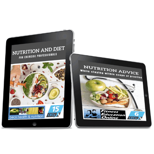 Nutrition & Diet Package for Fitness Professionals (21CECS)