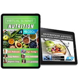 Nutrition Summit & Nutrition Advice Package for Fitness Professionals (21CECS)