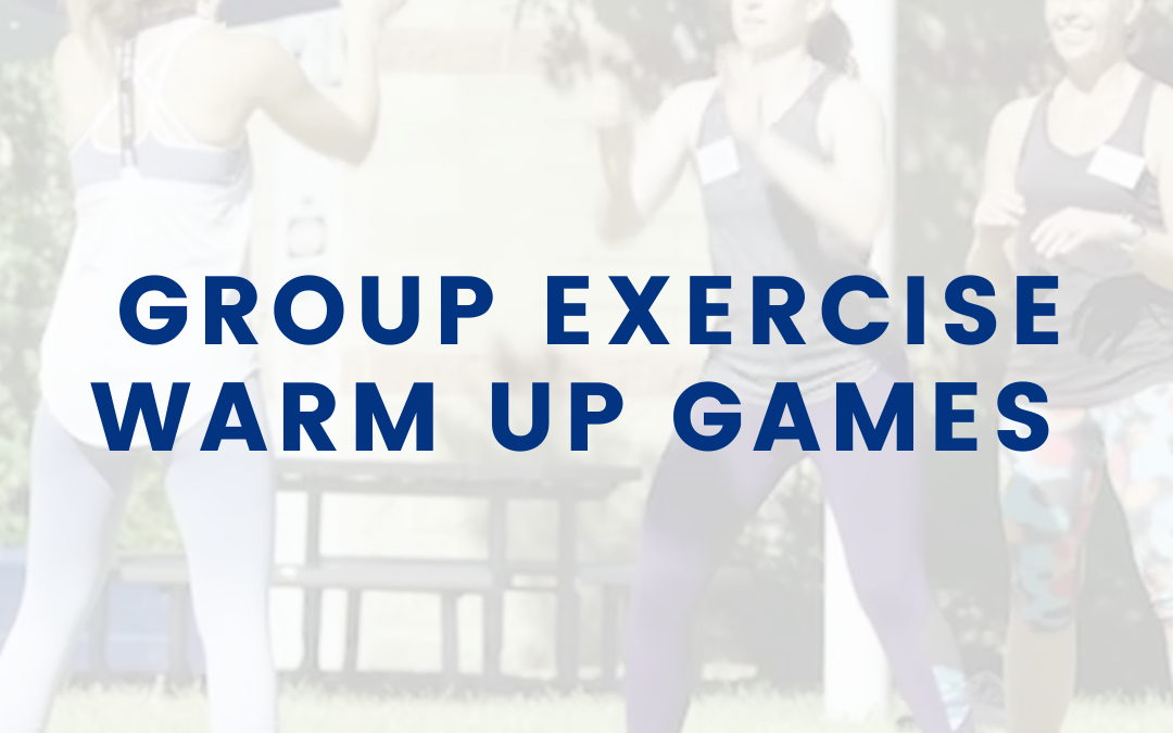 Group Exercise Warm Up Games