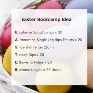 Easter Bootcamp Idea