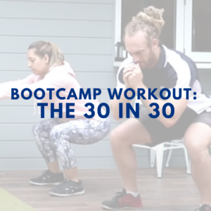 TRX Bootcamp Ideas