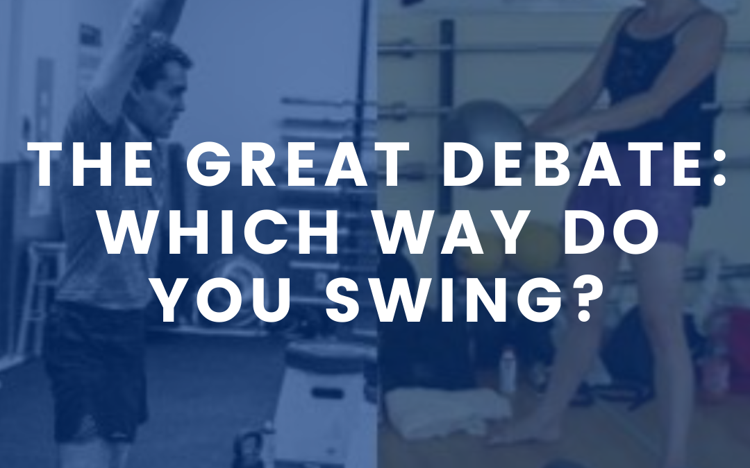 The Great Debate: Which Way Do You Swing?