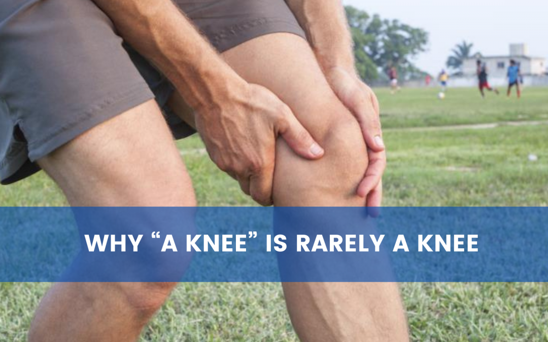 """Why """"a knee"""" is rarely a knee"""