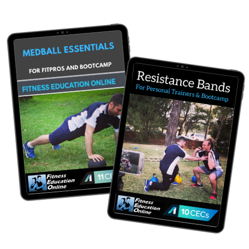 Medball + Resistance Bands Package (21CECs)