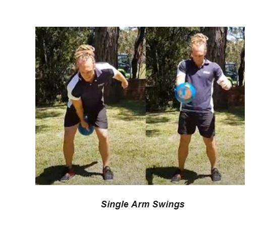 Single Arm Swings
