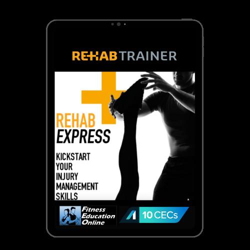 Rehab Trainer Express Online (10CECs)
