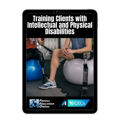 Training Clients with Intellectual and Physical Disabilities (10CECs)
