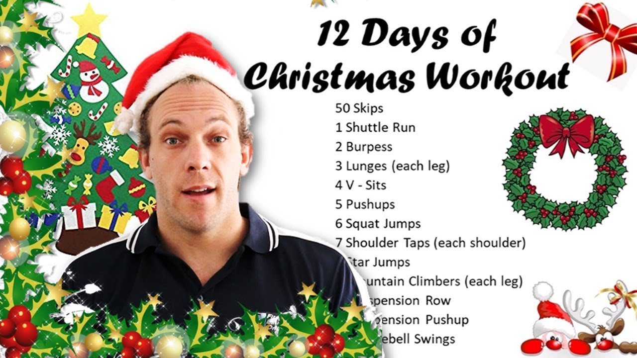 12 Days of Christmas Bootcamp Workout